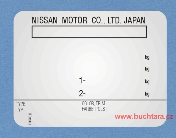 V robn t tek nissan motor co ltd japan buchta r a for Nissan motor co ltd